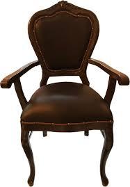 casa padrino barock luxus echtleder esszimmer stuhl braun braun mit armlehnen handgefertigte möbel mit echtem leder