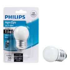 philips 7 5 watt s11 incandescent white light replacement