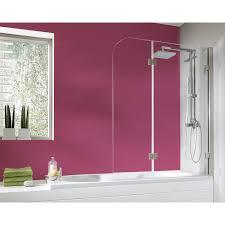 obi badewannenaufsatz mit abperl effekt varro ii echtglas 140 cm x 112 cm