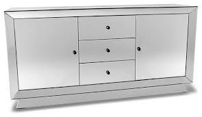 Zuri Furniture Azul All Glass Mirrored Dresser View in Your