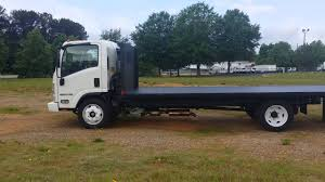 Isuzu With 20 Foot Flat Bed - YouTube