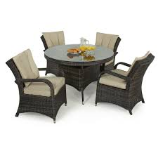 Maze Rattan 4 Seat Texas Round Dining Garden Furniture Set - Brown Maze Rattan Kingston Corner Sofa Ding Set With Rising Table 2 Seater Egg Chair Bistro In Brown Garden Fniture Outdoor Rattan Wicker Conservatory Outdoor Garden Fniture Patio Cube Table Chair Set 468 Seater Yakoe 8 Chairs With Rain Cover Black Round Chester Hammock 5 Pcs Cushioned Wicker Patio Lawn Cversation 10 Seat Cube Ding Set Modern Coffee And Tea Table Chairs Flower Rattan 6 Seat La Grey Ice Bucket Ratan 36 Jolly Plastic Philippines Small 4 Chocolate Cream Ideal