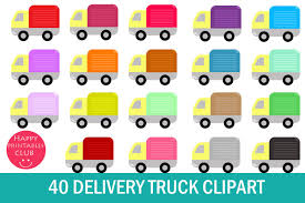 100 Delivery Truck Clipart 40 Food