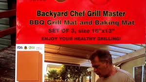 Backyard Chef Grill Master - Copper Grill Mats - YouTube My Baby Klose Backyard Chef Jr Bbq Watch Video Entpreneur Endeavors Johnstown Chef Seeks 1960s Smiling Man Outdoors In Backyard Patio Wearing Chef Hat Barbecue With The Bearded Youtube Must Haves For The Thebabyspotca Movie Theater Screens Refuge Amazoncom Bake And Grill Master Mat Baking Copper Ideas Collection Gas Bbq Stainless Lid Be E Best Your Hero Steak