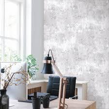 vliestapete beton wand hell grau