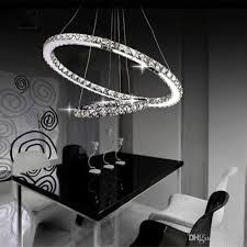 Crystal Round Rings LED Light Dining Room Chandelier Lighting Online With 26629 Piece On Loveas Store