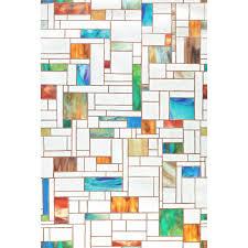 Artscape Decorative Window Film by Artscape Melange 24 In W X 36 In H Window Film 02 3606 The