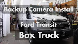 100 Camera Truck Backup Installation On Ford Transit Box Rear View