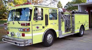 100 Fire Truck Red Vs Yellow Trucks Parkersburg Department