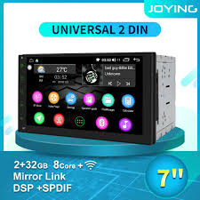 universal 7 2 din hd 4k car radio stereo android 8 1