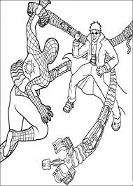 Click To See Printable Version Of Spider Man And Doctor Octopus Coloring Page