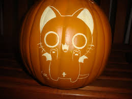 Nerdy Pumpkin Carving by Nyanpire Halloween 2012 By Ikariyamanga Deviantart Com On