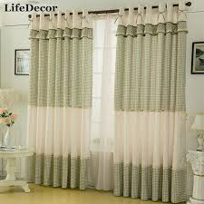 Remarkable Rustic Window Curtains Designs With Aliexpress Buy Fairies Style Curtain