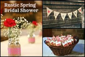 Rustic Spring Bridal Shower