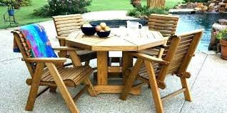 Outdoor Wooden Table And Chairs Outside Patio Furniture Wood Picnic Sets For Sale In