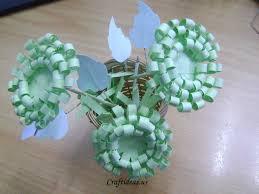 Paper Crafts Chrysanthemums