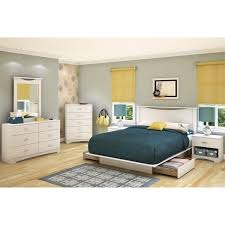 King Size Platform Bed With Headboard by White Flat King Size Platform Bed Frame With Drawers And Headboard