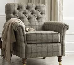 Armen Living Barrister Velvet Chair by Tweed Chair Beautiful Home Pinterest Tweed Living Rooms