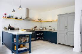 Full Size Of Kitchenclassy Gray And Blue Kitchen Ideas Yellow Large