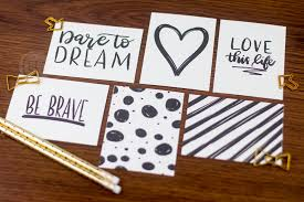 Super Cute Handwritten Project Life Card Set Source Hand Lettered Motivational Journaling Cards Love Paper Crafts Advertisements