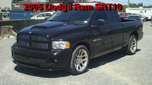 100 Dodge Truck With Viper Engine 2005 Ram SRT10 QuadCab 9UP79A YouTube