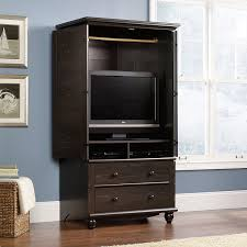 Amazon.com: Sauder Harbor View Armoire, Antiqued Paint: Kitchen ... Armoires And Wardrobes Dawnwatsonme Armoires Wardrobes Bedroom Fniture The Home Depot Walmartcom Elegant Armoire For Inspiring Cabinet Closets Ikea And Dark Fancy Wardrobe Organizer Idea New Portable Clothes Closet Storage