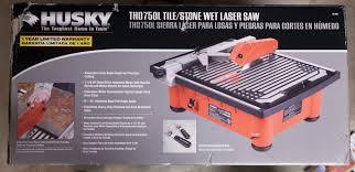 husky tile saw model thd750l husky tile saws saw palmetto for bph