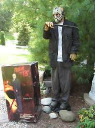 Homemade Animatronic Halloween Props by View Item Jason Voorhees Friday 13th Lifesize Animated Halloween