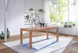 esstisch massivholz mumbai akazie 120 cm esszimmer tisch holztisch design küchentisch landhaus stil dunkel braun
