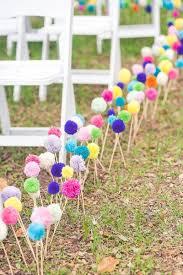 Wedding Aisle Decor Ideas Diy Best Garden Decorations I Love Pink
