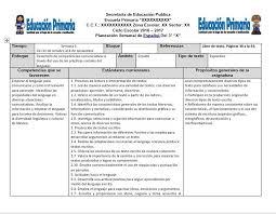Planeaciones del tercer grado del segundo bloque del ciclo escolar
