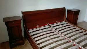 schlafzimmer kirschbaum massiv bett schrank kommode