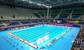 Rio Swimming Pool The Olympics Depth