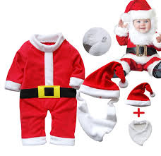 Baby Christmas Santa Claus Outfit Costume Dressy Party Snowman Winter For 0 2 Year In Rompers From Mother Kids On Aliexpress