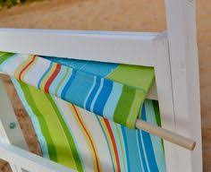 ana white build a wood folding sling chair deck chair or beach