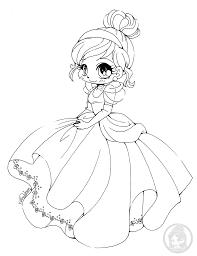 Coloriage De Princesse Cendrillon Disney Par YamPuff Artherapieca