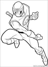 Printable Coloring Pages Gt Power Rangers