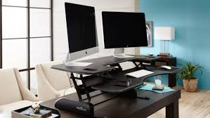 Varidesk Pro Plus 48 by How To Embrace Standing Desks Without Wrecking Your Tech Setup