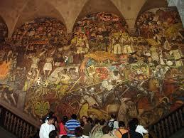Jose Clemente Orozco Murales Palacio De Gobierno by Muralismo Atractivos Turisticos De Mexico