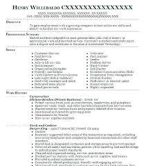 Landscaping Resume Sample Laborer Job
