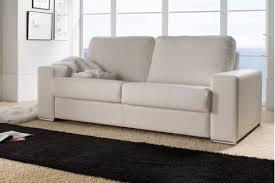 canapé lit convertible en cuir courchevel