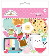 So Punny Kawaii Food Planner Stickers