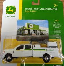NEW John Deere Ford F350 Service Truck, Collector Card, 1/64 Scale ...