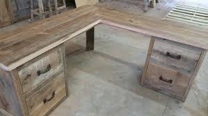 YOUR Custom Made Rustic Barn Wood Corner L By Timelessjourney