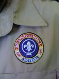 Cub Scout Committee Chair Patch Placement by Bsa U0027s 100th Anniversary Halfeagle Com