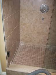 how tile shower wall floor tiling home depot drain color