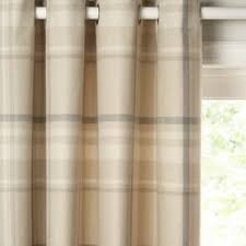 Lined Curtains John Lewis by John Lewis Darcey Check Lined Eyelet Curtains Bluewater 95 00
