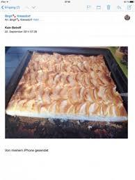 apfelkuchen vom blech gemahlene mandeln machen den teig besonders saftig