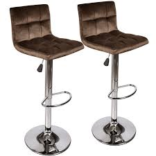 Elecwish Bar Stools Set Of 2 –Fabric Flannel Seat And Adjustable Height  Swivel Chairs For Counter Outdoor Home Furniture (Brown/Chocolaate) Adjustable Height Swivel Barstool 3 Pieces Bronze Color Kitchen Home Chair Seat Ebay Pueblo Bar Stool With Iron Base By Intertional Fniture Direct At Dunk Bright American Antique Industrial Design Pu Leather Round Sage Office Mid Back Armrest Boston Oria Original Early 20th Century Welded Joint Antique American Medical Adjustable Height Dental Or Hospital Examination Room Swivel Chair Armrests And Tyner Porthos White Adjustableheight Winford Mix Grey Tuffed Viscologic Serenity 23 To 31 Inch Bar Stools Set Of 2