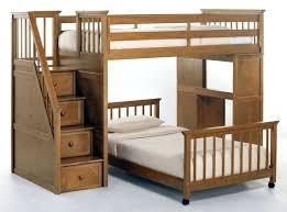 Ikea Desk Bed bo Loft Bed Kids Twin Bunk Bed With Desk Rustic